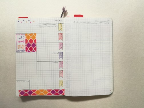 Colorful Bullet Journal