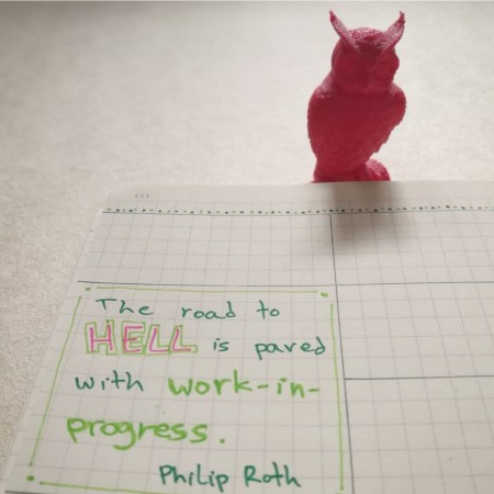 The road to hell bujo quote